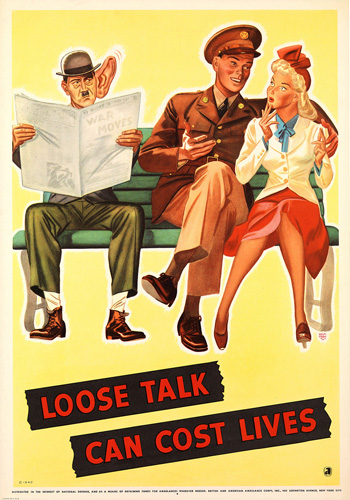 Carteles de propaganda de la II Guerra Mundial Hitlerbigear