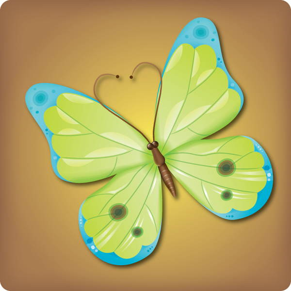 How to Make an Attractive Vector Butterfly