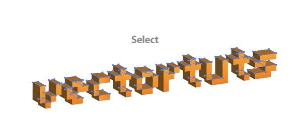 ILLUSTRATOR - Hướng Dẫn Tạo chữ 3D & Background trong AI