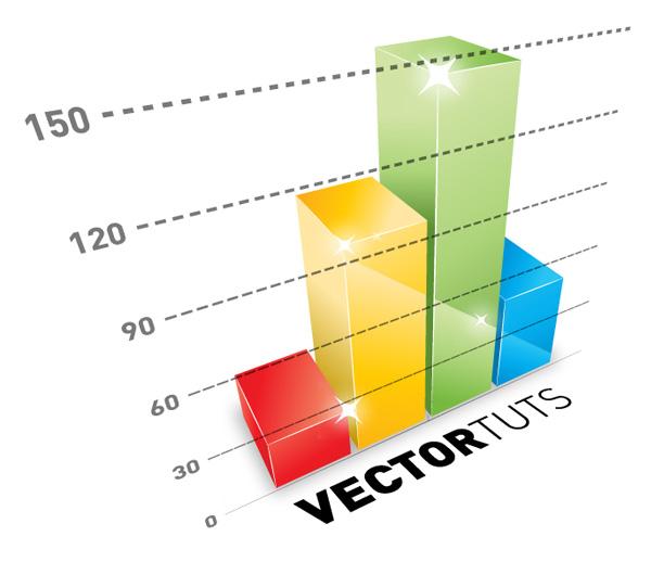 60  useful 3D Adobe Illustrator tutorialsCreative Bar Graphs