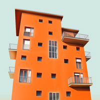 Create a Realistic, Vector Building Illustration