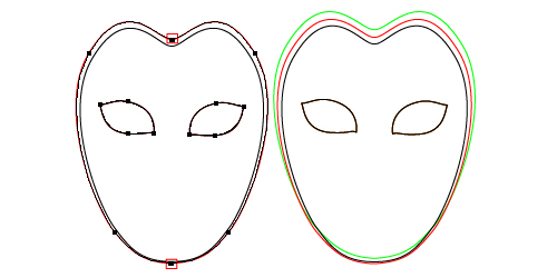full face carnival mask template traffic club